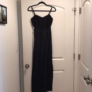 NWOT Hurley Maxi Dress with Slit and Open Sides